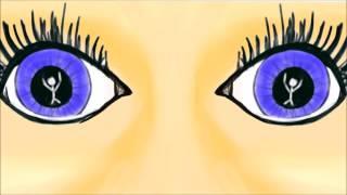 Kijk eens naar de poppetjes in mijn ogen