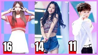 Meet Youngest Kpop Idols 16-11 Years Old