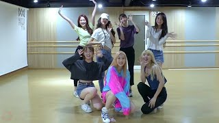 [OH MY GIRL   BUNGEE (Fall In Love)] Dance Practice Mirrored