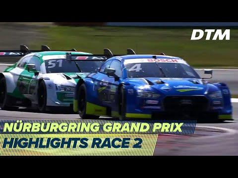 2020年 DTM ニュルブルクリンク(ドイツ)レース2ハイライト動画