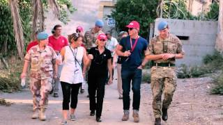 Daniel Craig in Cyprus as Global Advocate for the elimination of mines and explosive hazards