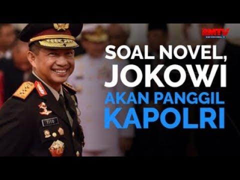 Soal Novel, Jokowi Akan Panggil Kapolri