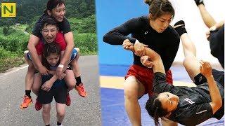 レスリング吉田沙保里のトレーニング|SaoriYoshida-strengthtraining