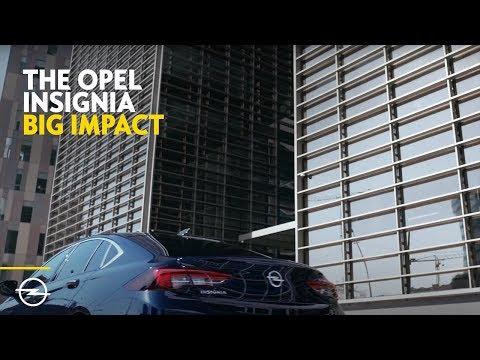 Opel Insignia Grand Sport Лифтбек класса D - рекламное видео 2