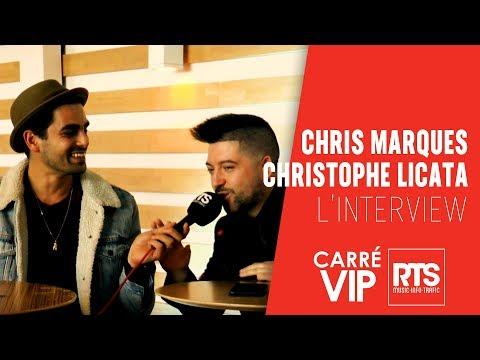 RTS FM L'interview Chris Marques et Christophe Licata