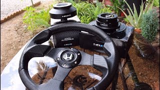 How to install an Aftermarket Steering Wheel in a Honda!