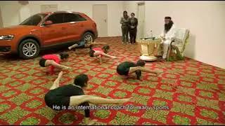 Gurmeet Ram Rahim Playing Sports funny