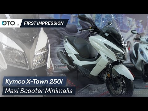 Kymco X-Town 250i | First Impression | Maxi Scooter Minimalis | OTO.com