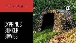 CARPologyTV   Cyprinus Bunker Bivvies Review   A small footprint, but a minute pack-down size