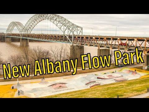 New Albany Indiana - Flow Park - Skatepark