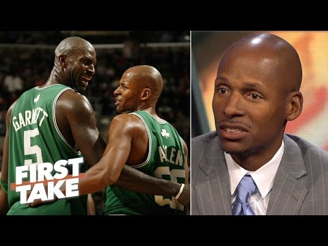 Ray Allen on Kevin Garnett: He has 'forgotten the genesis' of our relationship | First Take | ESPN