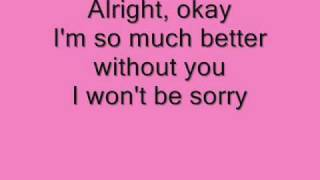 Ashley Tisdale it's alright it's okay Lyrics