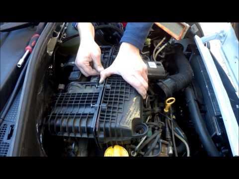 Filtro de aire del auto