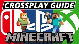 How To Play Minecraft Crossplay Ps4 Xbox! Servers/Mods Info And PS Tokens Explained!