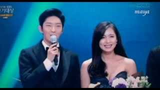 Lee Joon Gi 2014KBS演技大賞 Best Couple Awards 141231