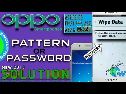 Remove Pattern & Pin OPPO F5 CPH1723 With MRT Key - تنزيل يوتيوب