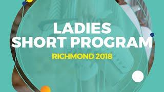 Rion Sumiyoshi (JPN)   Ladies Short Program   Richmond 2018