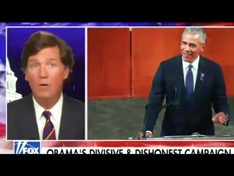 Tucker Carlson Mad At Obama For Stupidest Possible Reason