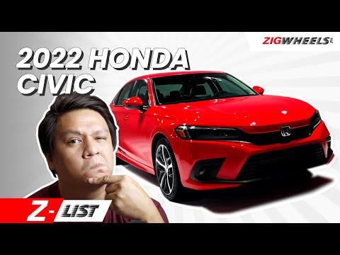 Z-List Ep.3   2022 Honda Civic Preview