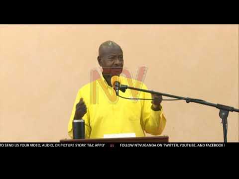 Museveni awabudde abavubuka ku ky'emirimu