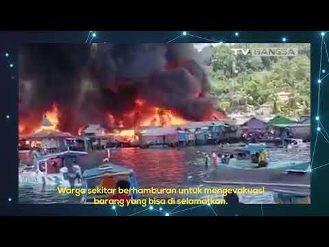 Kembali Berduka! Ratusan Rumah di Papua Terbakar!