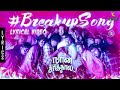 Breakup Song Tamil Lyrics Naan Sirith