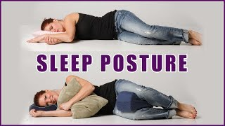 What's The Best Sleep Position? (Improve Your Posture Overnight - Back Pain Relief)