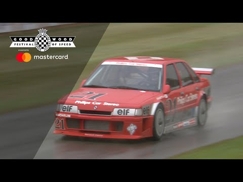 Awesome Renault 21 SuperTourisme howls at Goodwood