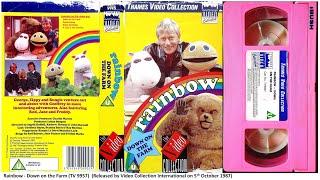 Rainbow - Down on the Farm [VHS] (1987)