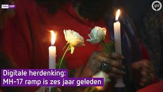 Digitale herdenking van de MH17-slachtoffers