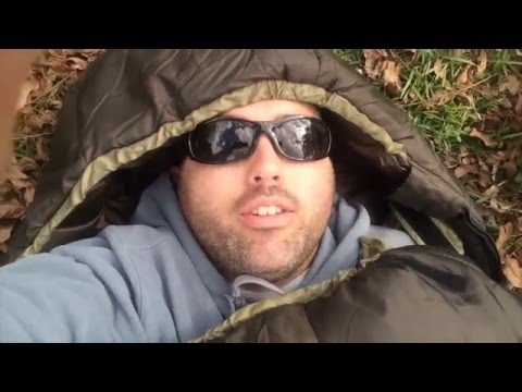 Coleman North Rim 0 Degree Sleeping Bag- Bug-out, Survival, Camping Vlog #59