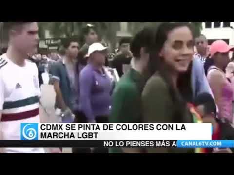 La CDMX se pintó de colores con la marcha LGBT