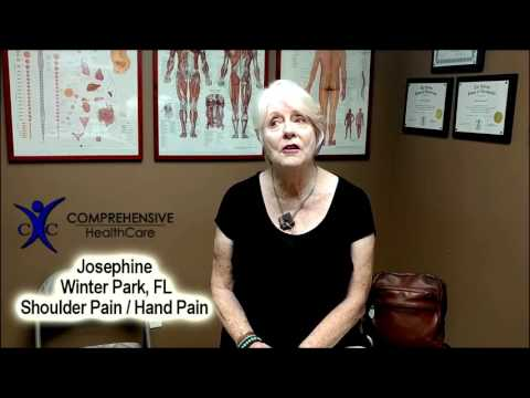 Josephine - Shoulder / Hand Pain