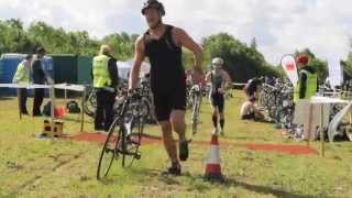 preview picture of video 'Cotswolds 3/4 Triathlon by Events Logic UK'