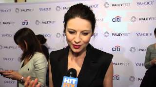 Caitriona Balfe is proud of the realistic sex scenes in 'Outlander'