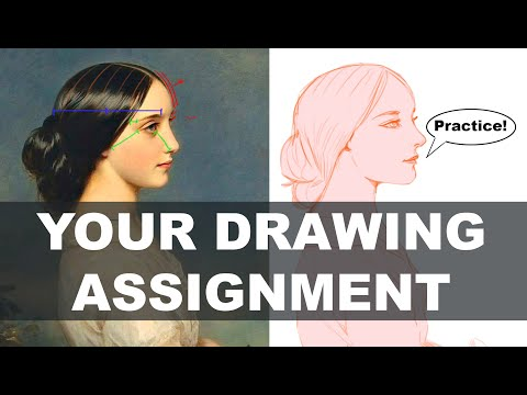 Beginner Drawing Course: Week 01 - Basics of Drawing and Line DEMO
