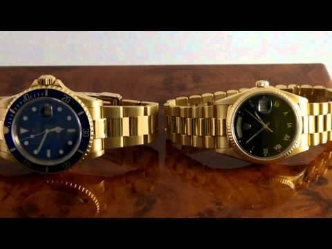 WHY ARE GOLD ROLEX WRIST WATCHES UNSELLABLE ?
