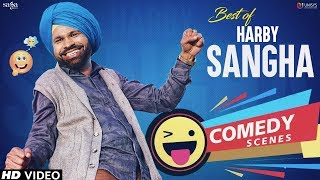 Punjabi Comedy Scene | Harby Sangha Comedy | New Punjabi Movies | Comedy Funny Videos