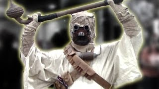 Awesome Star Wars Tusken Raider Sand People Costume Comic Con Cosplay