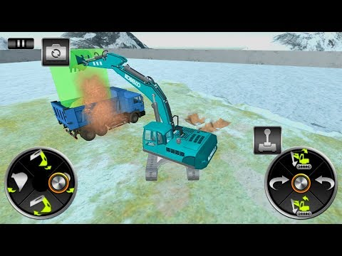 Excavator Simulator 2019 Heavy Crane Drive (by First Future Studio) Android Gameplay [HD]