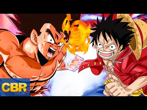 Luffy from One Piece Is More Powerful Than Base Goku