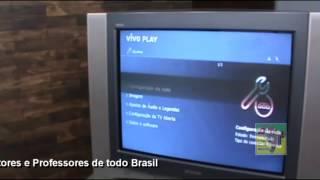 Instalando TV Digital com Cabo RCA em TV de Tubo parte 2