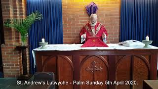 Palm Sunday 5th April 2020