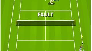 テニスのフラッシュゲーム
