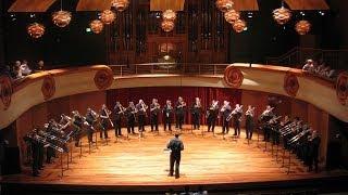 STS Professors Choir performance at the 2013 International Trombone Festival
