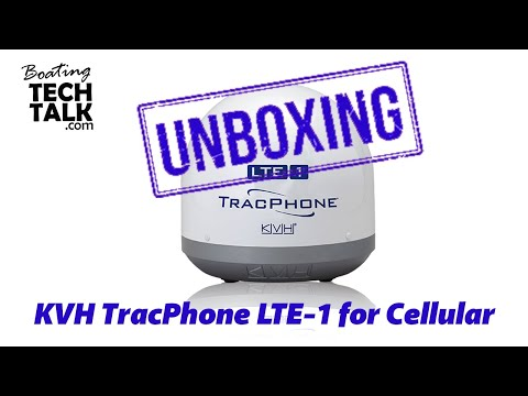 KVH TracPhone LTE-1 for Cellular UnBoxing and Product Review
