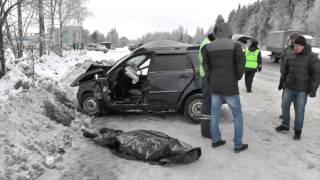 Сводка ДТП Гольф и Калина, погибший. Место происшествия 16.12.2015