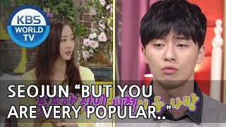 Park Seojun and Choi Wooshik were jealous of Dasom's popularity? [Happy Together/2018.05.03]
