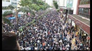721光復香港大遊行!! 遊行遊到中聯辦!!