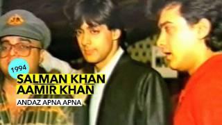 Salman Khan & Aamir Khan Launching Andaz Apna Apna